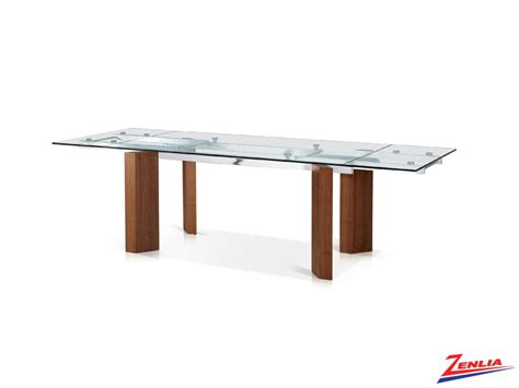 Glass Dining Room Tables With Extensions Roc Extension Dining Table Glass Dinettes Kitchen