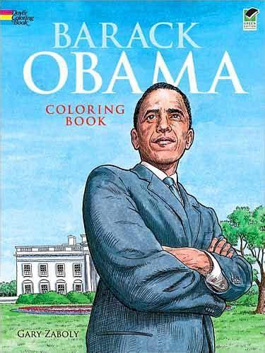 barack obama biography en espanol barack obama coloring book by gary zaboly paperback