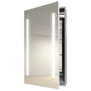ascension right recessed medicine cabinet by electric