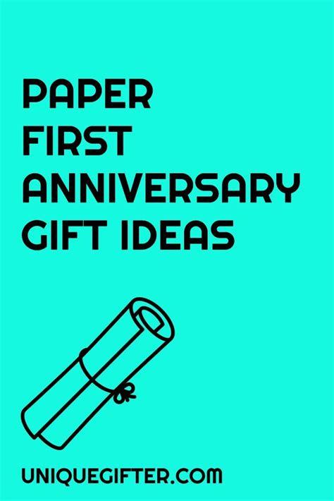 year anniversary gift ideas  wedding