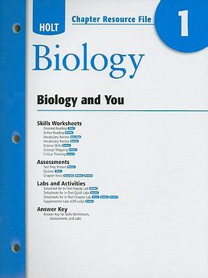 modern biology chapter tests by holt rinehart and holt biology chapter 12 and 13 test review