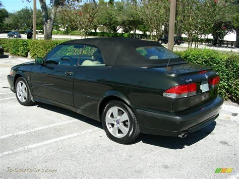 saab convertible green 2003 saab 9 3 se convertible in graphite green metallic