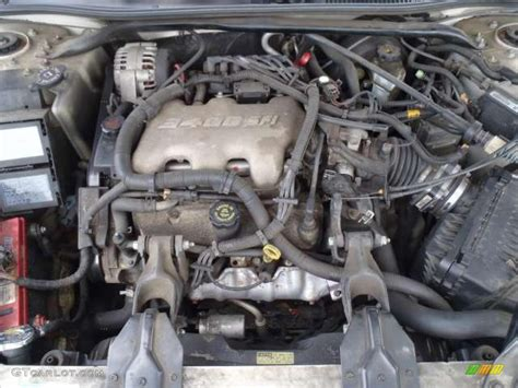 2001 chevy impala engine 2001 chevrolet impala standard impala model 3 4 liter ohv