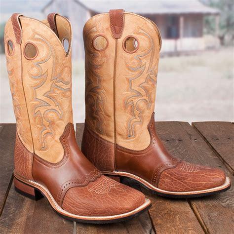 cowboy rubber sts boulet saddle v boot