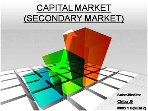 Capital Market Ppt For Mba by Capital Market India Authorstream