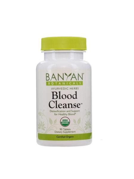 Detox Blood For Acne by Blood Cleanse 90 Ct Ayurvedic Herbs Direct