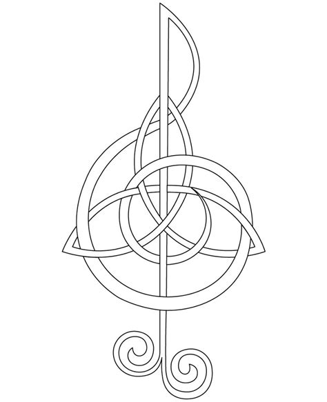 treble clef by fighttheassimilation on deviantart