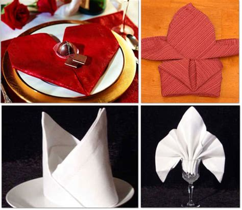 How To Fold Paper Napkins In A Fancy Way - 13 ways to fold a napkin fancy tip junkie
