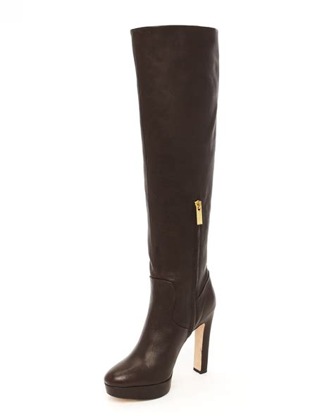kors by michael kors zola boot in black lyst