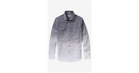 Navy Blue Rayleigh Medium Square Slim Backpack express slim ombre square print shirt in blue for lyst