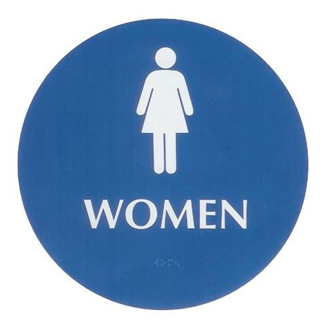 Large Bathroom Signs Restroom Braille Sign Large Ada
