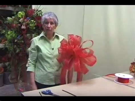 youtube how to make a silver xmas bow how to make a tree bow topper nancy 2016 edition