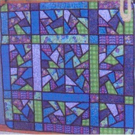 Stained Glass Quilting by Stained Glass Quilt Quilts To Make