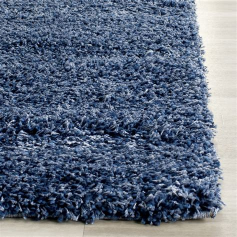 navy blue rug safavieh shag navy blue solid rug reviews wayfair