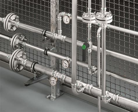 Water Piping System Stainless Steel Water Pipe System Sanpress Inox Viega