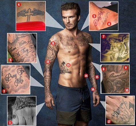 david beckham tattoo london 17 best ideas about david beckham body on pinterest