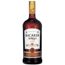 Liquor Gift Baskets Bacardi Anejo Rum 750ml