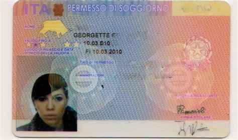 permesso di soggiorno italia il pds per attesa cittadinanza in primo piano gruppo