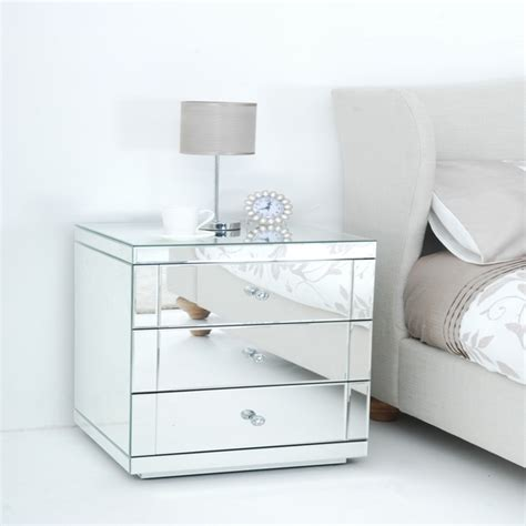 Cheap Nightstands by Cheap Nightstands Modern Mirrored Nightstand