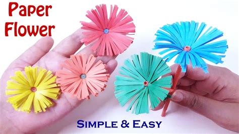 How To Make A Beautiful Paper Flower - how to make beautiful paper flowers diy crafts origami