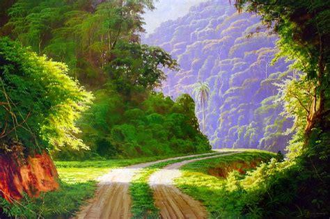 imagenes de paisajes tranquilos im 225 genes arte pinturas horizontes del co con fincas