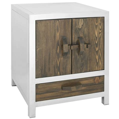 Stainless Steel Nightstand Safavieh Belfort Storage Silver Stainless Steel Stand