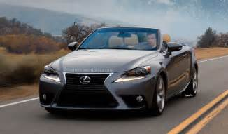 Lexus Es Convertible Imagining A 2014 Lexus Is Convertible Lexus Enthusiast