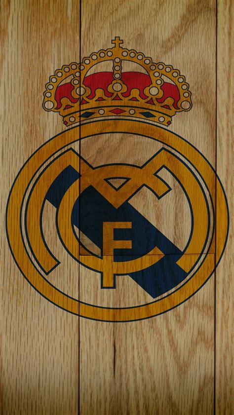 wallpaper keren real madrid サッカー レアル マドリードのロゴマーク スマホ壁紙 iphone待受画像ギャラリー