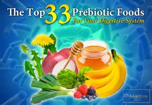 the top 33 prebiotic foods for your digestive system