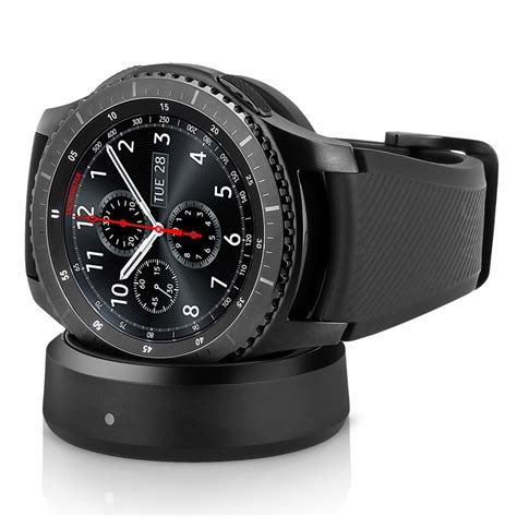 samsung frontier s3 samsung gear s3 frontier smartwatch w rubber band black refurbished a4c