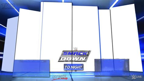 Matching Card Templates by Renders Backgrounds Logos Smackdown Matchcard 2016