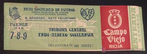 entradas rayo vallecano deportivo entrada del partido real sociedad rayo vallecan comprar