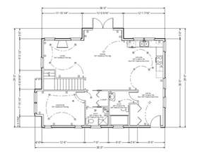 House Plans With Dimensions gallery cool house plans with dimensions galleryimage 8 of 10