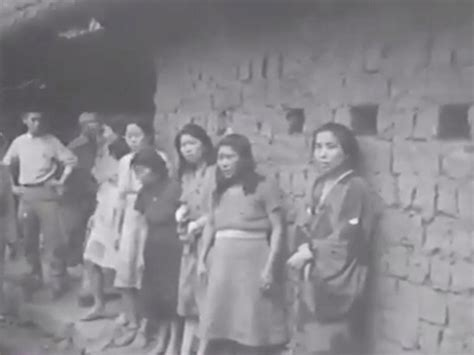 japan korea comfort women new footage shows korean comfort women in military