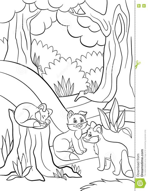 cute wild animals coloring pages nature cat colorin pictures to pin on pinterest pinsdaddy