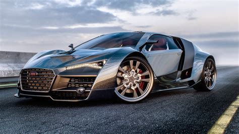 Audi R10 by Audi R10 Depicted In Realistic And Gaming Styles Is Both
