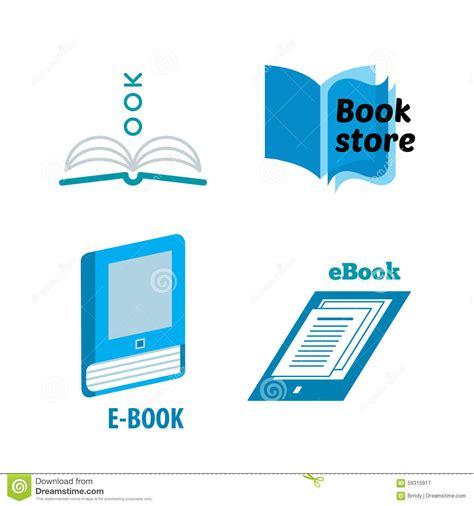 e book icon design stock vector image 49331229 book logo design stock vector image 59315917