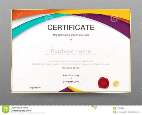 design certificate of appreciation modern certificate appreciation template diploma design