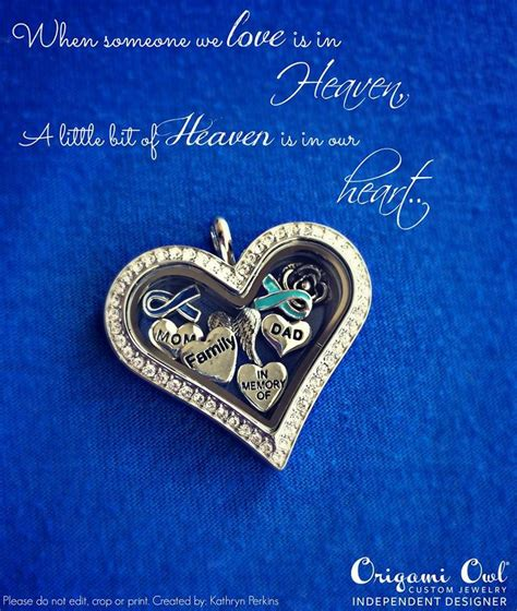 Origami Owl In Memory Of - the 47 best images about memorial lockets in memory of