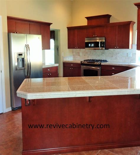 revive kitchen cabinets walnut oak cabinets traditional kitchen boise by