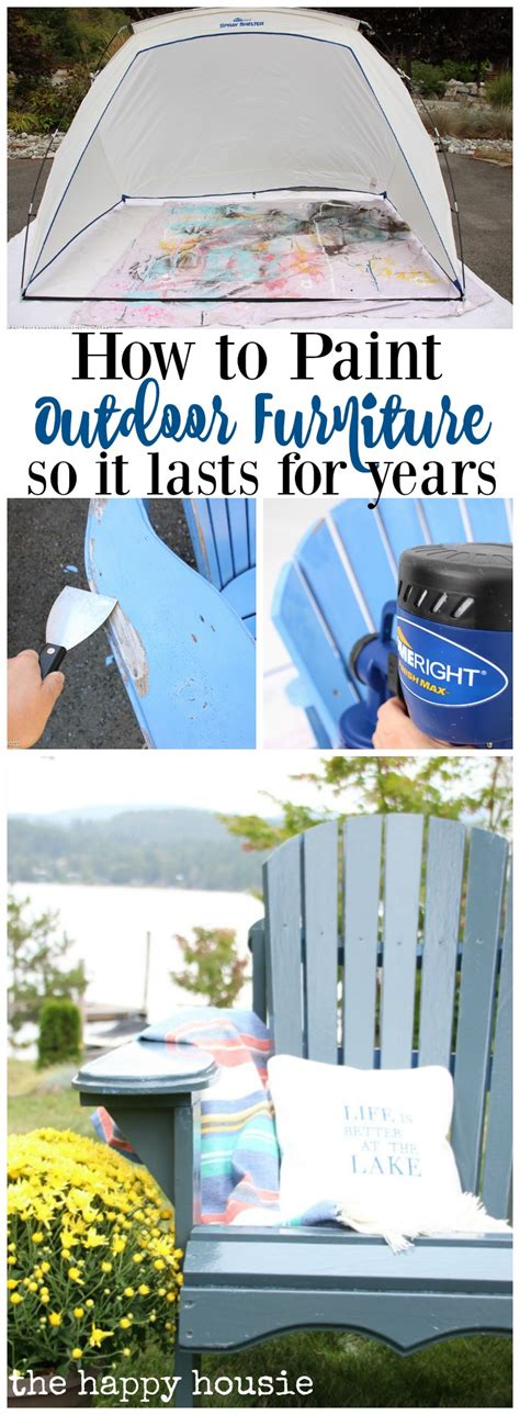 the best way to paint how to paint outdoor furniture so it lasts for years the