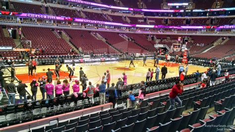 united center section 113 chicago bulls rateyourseats