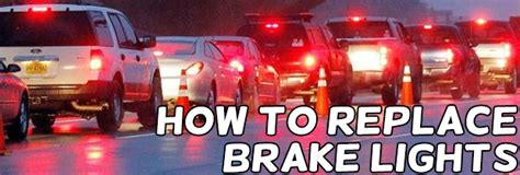 how to change a brake light replacing a brake light bulb replacement bulb fitting and