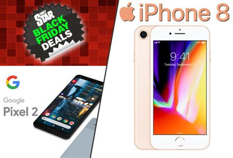 2 iphone deals black friday 2017 iphone 8 and pixel 2 deals revealed and prices been slashed ps4
