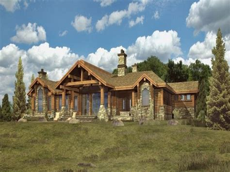 Log Cabin Style Home Plans by Log Home Mansions Log Cabin Ranch Style Home Plans Ranch