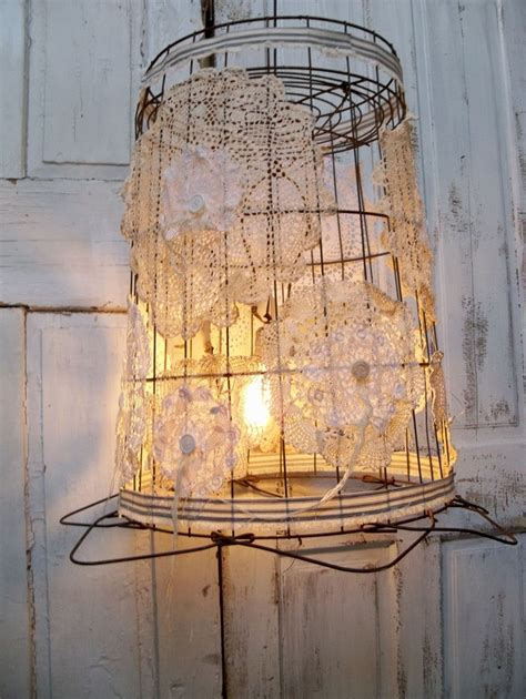 Wire Basket Light Fixture 1000 Images About For The Home On Pinterest Barn Doors Shelves And Shabby