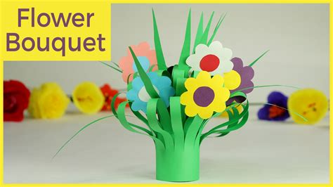 How To Make Paper Flower Bouquet Step By Step - crafts paper flower bouquet easy step by step