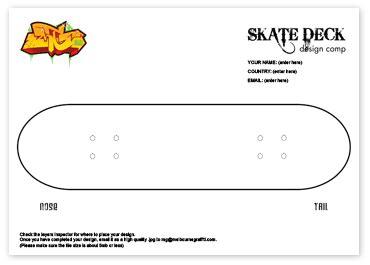 skateboard template skateboard deck template www pixshark images