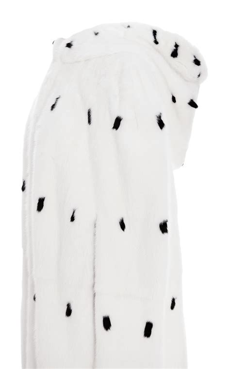 Get An Ermine Fur Cape Formerly Owned By Jean Harlow by Valentino Mink Cape With Summer Ermine Tips In White Lyst