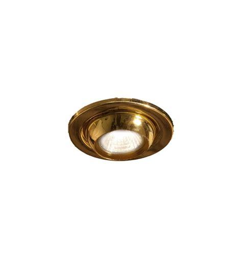robus gz10 enclosed eyeball downlight brass